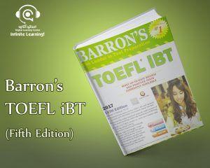 نسخه پانزدهم Barron's TOEFL iBT