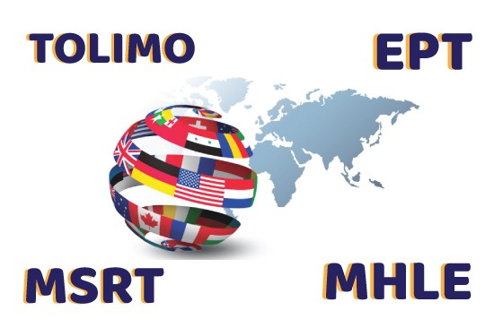 آزمون های ملی زبان