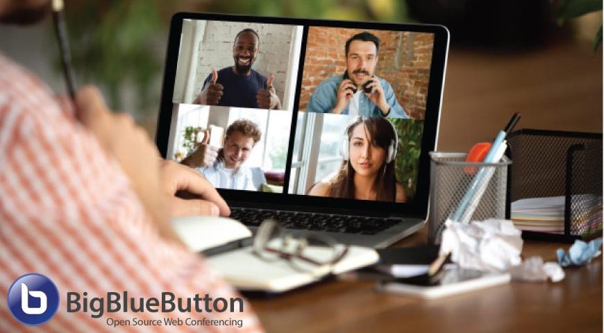 نرم افزار Big Blue Button