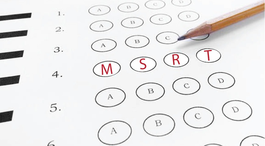 ثبت نام آزمون MSRT