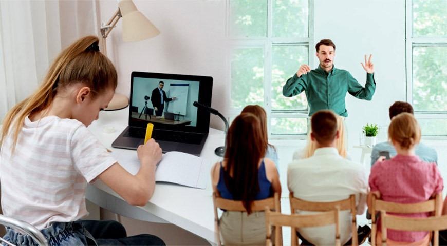معلم کلاس آنلاین