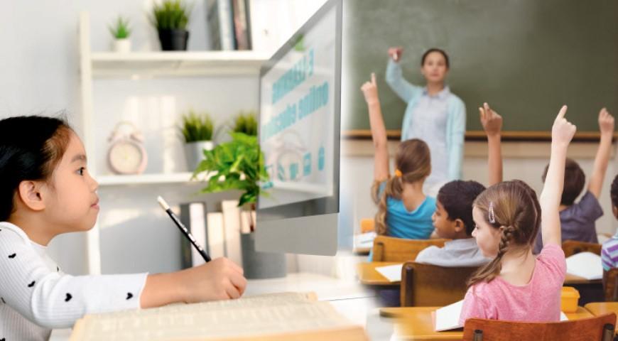عملکرد دانش آموزان در کلاس آنلاین