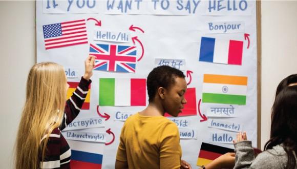 زبان یاد بگیریم