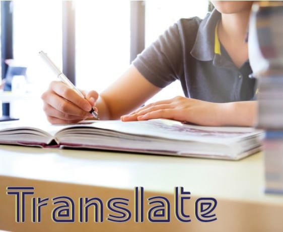 ترجمه و ویراستاری