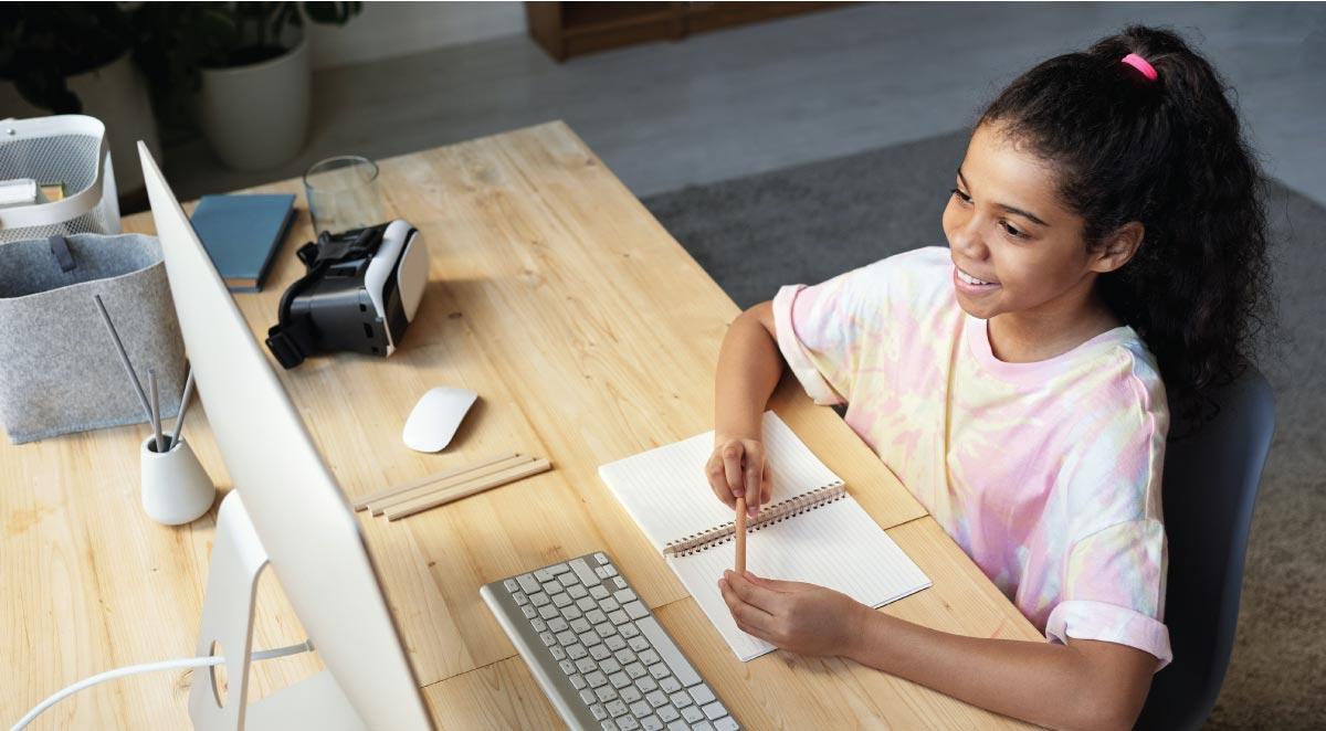 آموزش آنلاین به کودکان