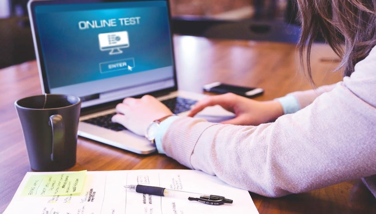 امتحان آنلاین